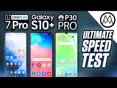 OnePlus 7 Pro vs Samsung S10 Plus / Huawei P30 Pro - SPEED Test!