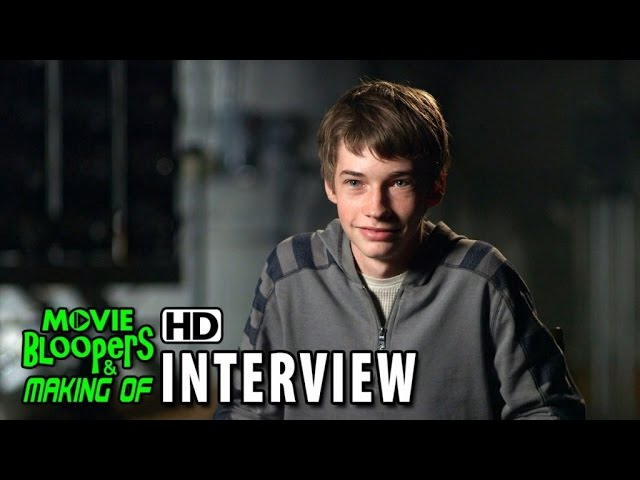 Maze Runner: The Scorch Trials (2015) Behind the Scenes Movie Interview - Jacob Lofland is 'Aris'