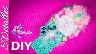 Cintillo o Diadema para Bebé #5 / Headband for babies #5 | Video# 29 | SDetalles | DIY