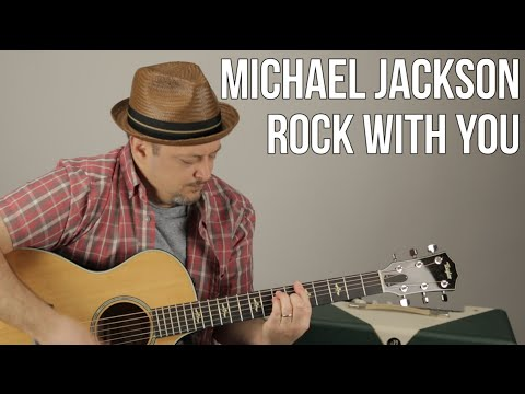 Michael Jackson - Rock With You - Guitar Lesson - How To Play On Guitar Tutorial