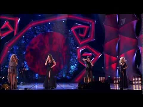 Юбилейный концерт группы виа гра золотой состав группы (анна седокова, вера брежнева, надежда грановская)