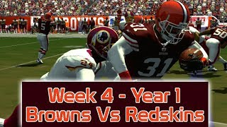 ESPN NFL 2K5 - Cleveland Browns Vs Washington Redskins - Week 4