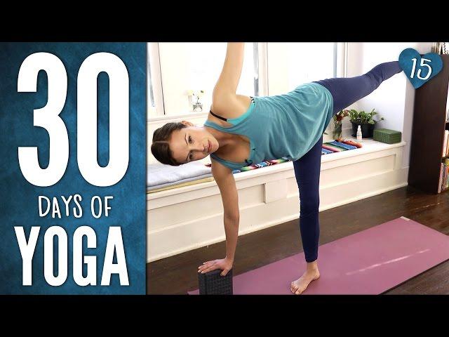 Day 15 -1/2 Hour Half Moon Practice- 30 Days of Yoga