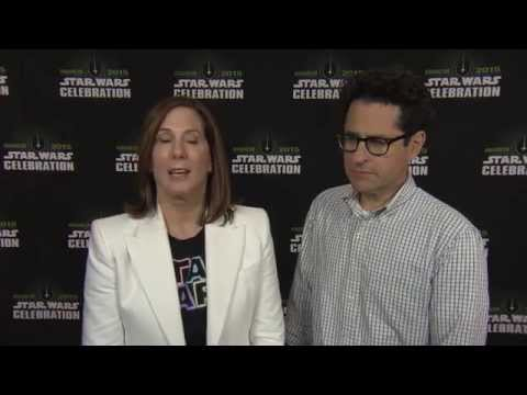 Star Wars Celebration Anaheim 2015: Director J.J. Abrams & Producer Kathleen Kennedy Interview