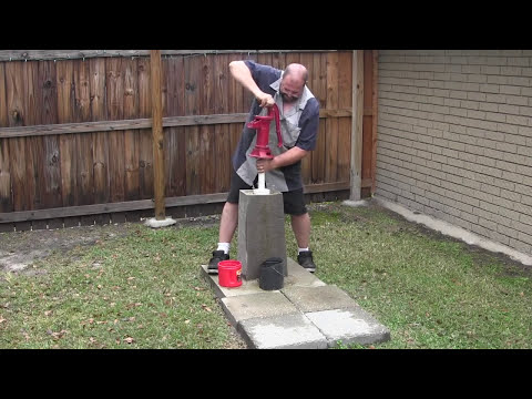 How To Rebuild A Shallow Well Pitcher Pump video