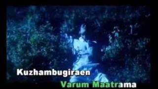 idhu kaathala muthal kaathala-tamil karaoke,dhanush