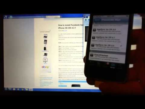 How to install Facebook App on your iPhone 3G step by step guide.