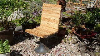 Restoring An Old Chair Using Dovetailed joints / Woodworking Project