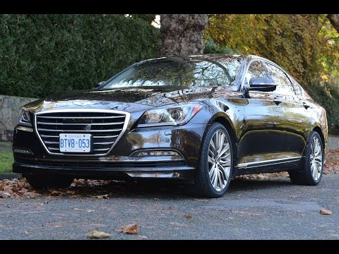 2015 Hyundai Genesis review