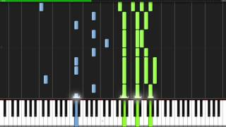 Ori and the Blind Forest Medley [Piano Tutorial] (Synthesia) // ThePandaTooth