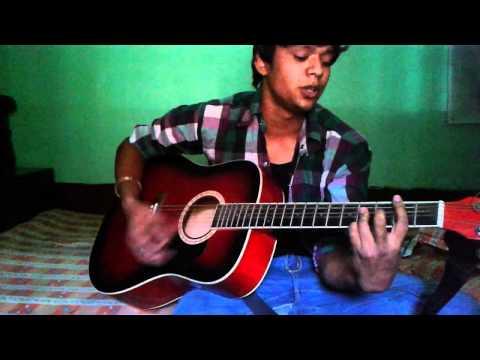 Hum Rahe ya na rahe kal in acoustic guitar
