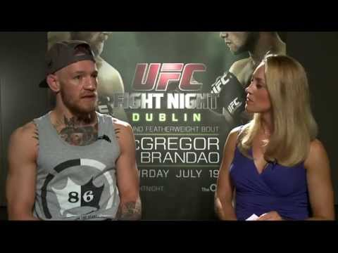 Fight Night Dublin: Conor McGregor Pre-Fight Interview