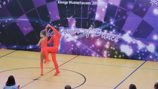 Rebekka Stahl & Daniel Langer - Deutsche Meisterschaft 2016
