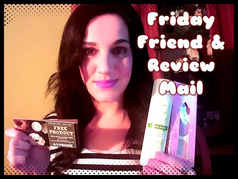 Friday Review and Friend Mail!! & Small Target Clearance Haul