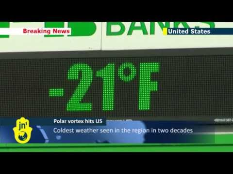 Arctic America: Polar vortex continues to push freezing weather conditions across US