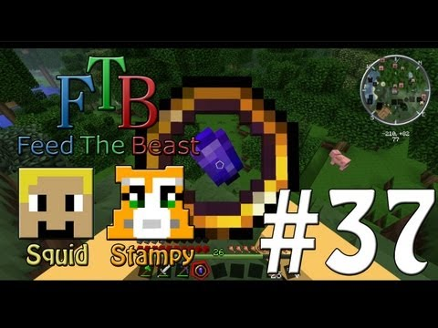 Feed The Beast #37 - Magical Compass!! - W/Stampylongnose