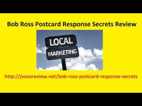Bob Ross Postcard Response Secrets Review And Bonus