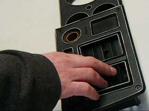 """""""how to"""" install dash bezel a/c vents on 1979 1981"""