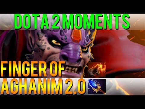 Dota 2 Moments - Finger of Aghanim 2.0