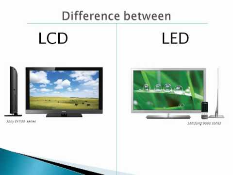 what is the difference between lcd and led tvs youtube. Black Bedroom Furniture Sets. Home Design Ideas