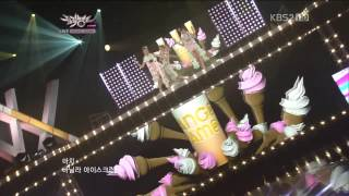120914 Orange Caramel - Milk Shake @KBS Music Bank