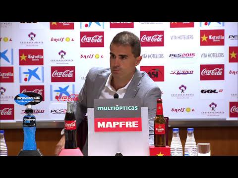 Rueda de prensa de Garitano tras el UD Almería (2-0) SD Eibar