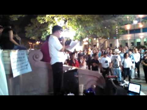 #LiberenAMireles en Hermosillo pt. 1/2 Manifestación global