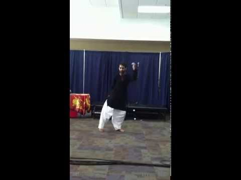 Salman Mushtaq dance performance at Madison Area Technical College Madison, Wisconsin USAv