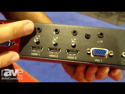 InfoComm 2016: Hall Research Introduces SC 1080R Multi-Format Switcher and Scaler