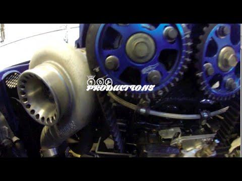 902 PRODUCTIONS ~ Turbo Ls Vtec Civic SiR Dyno Runs 402whp @ 271wtq
