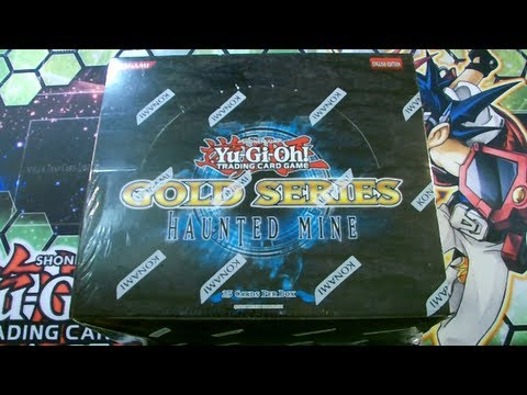 Best Yugioh 2012 Gold Series 5 Haunted Mine Booster Box Opening Ever! video