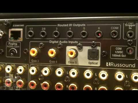 ISE 2015: Russound Features MCA-88X Controller Amplifier Streamer