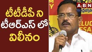 Motkupalli Narasimhulu Sensational Comments- Chandrababu Should Merge TTDP In TRS - ABN - netivaarthalu.com