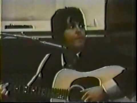 The Beatles  Blackbird  Very Rare   Acoustic  Rehearsal