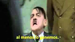 Hitler se entera que River descendió  - IMPERDIBLE
