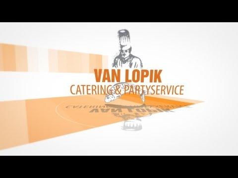 Van Lopik Catering en Party Service promo film
