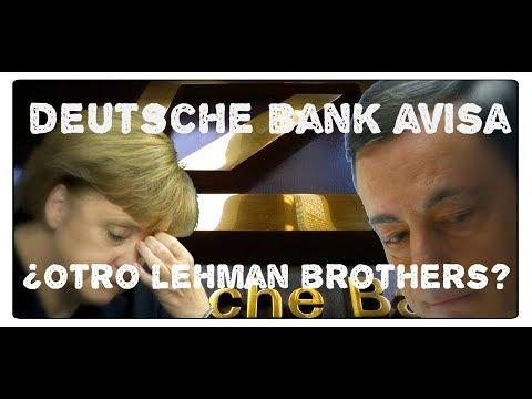 ¿Es el Deutsche Bank otro Lehman Brothers?