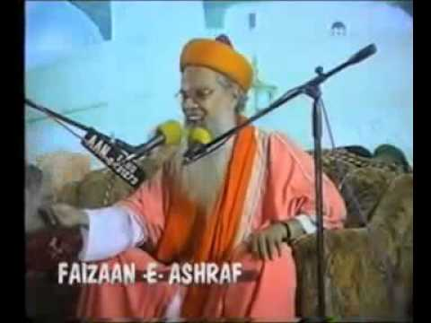 Moulana Hashmi Miyan--aamade Mustafa  Pbuh video