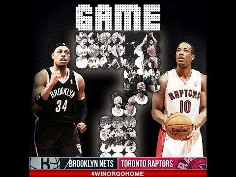 NBA Playoffs 2014 - Brooklyn Nets vs Toronto Raptors Game 7 Highlights | 5/4/14