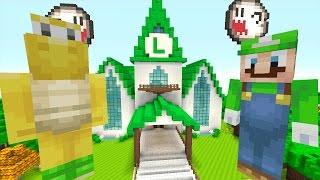 Minecraft Wii U - Luigi's Mansion Series - Mansion Tour! [1]