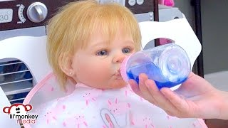 My Reborn Adeline's Daily Routine!