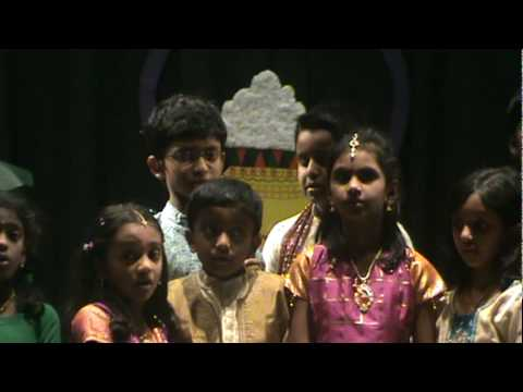 Columbus Tamil Sangam 2010 Pongal - Tamil Kids Rhymes - 2 video