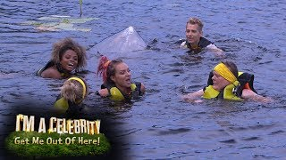The Lake Race Is a Washout for the Yellow Team | I'm A Celebrity... Get Me Out Of Here!