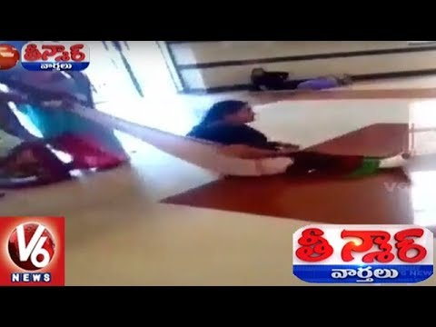 No Stretcher, Patient Dragged On Floor At Maharashtra Hospital | Teenmaar News