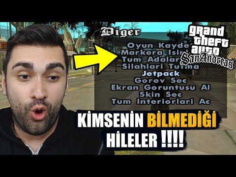 (11.15 MB) GTA SAN ANDREAS KİMSENİN BİLMEDİĞİ HİLELER !