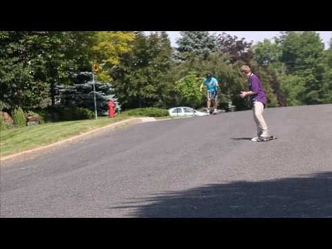 Longboard : Sunny Edit With Loaded Dervish. Charles Ouimet