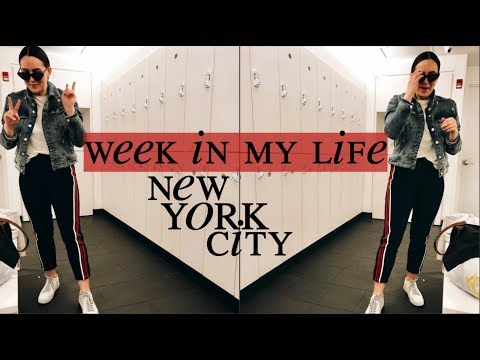 room tour, haul, week in my life | new york city