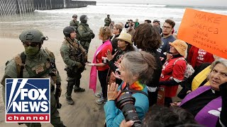 Border Patrol makes 32 arrests at border protest