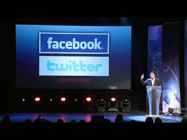 Marcel Granier presenta ante el Oslo Freedom Forum:
