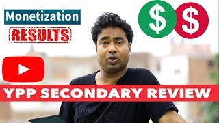 #AskSupport Ep. 8 : YPP - YouTube Channel Secondary Review Monetization Results !